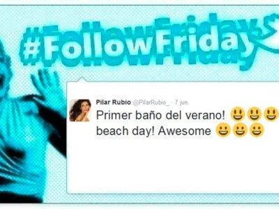 #FollowFriday de Poprosa: Las celebrities ya se broncean al sol
