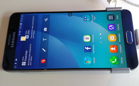Galaxy Note 5 Pantalla