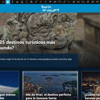 Diario del Viajero estrena nuevo diseño, más cómodo de leer