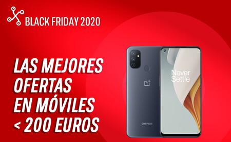 Los mejores móviles en oferta hoy por el Black Friday por menos de 200 euros