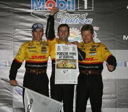 Porsche da la sorpresa en Sebring