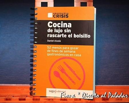 Libro de cocina 'moderna' pero con recetas asequibles al bolsillo