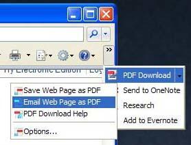 PDFDownload, ahora también para Internet Explorer