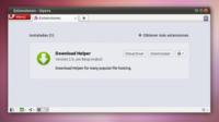 Download Helper, una extensión para Opera que facilita las descargas de Megaupload, Mediafire y más