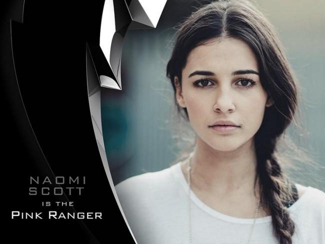 Naomi Scott es la nueva Pink Ranger