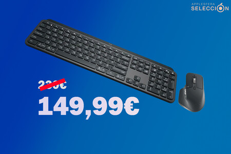El tándem de teclado Logitech MX Keys y ratón MX Master 3 para máxima productividad está de oferta a 149,99 euros en Macnificos