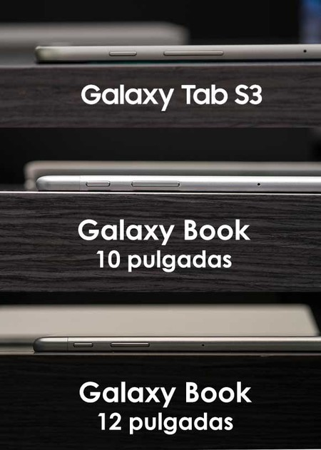 Samsung Galaxy Tab S3 y Galaxy Book: perfil