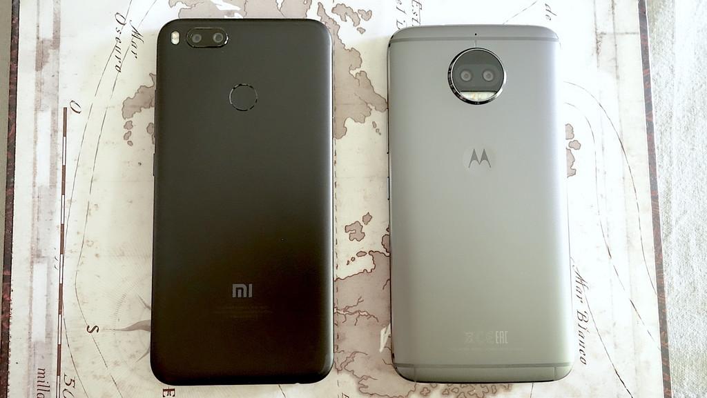 Xiaomi Mi 5x Vs Moto G5s Plus