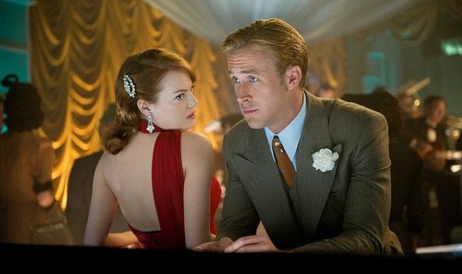 Emma Stone y Ryan Gosling en 'Gangster Squad (Brigada de élite)'