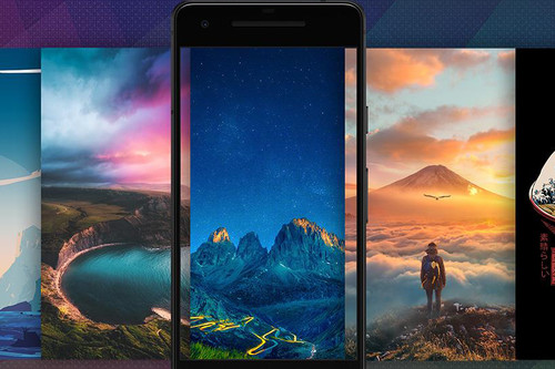 Las nueve mejores apps Android para descargar fondos de pantalla gratis en tu móvil