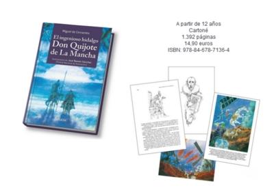 Anaya Infantil y Juvenil publica una edición conmemorativa del Quijote