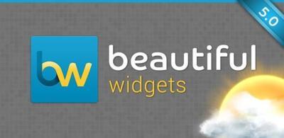 Beautiful Widgets 5.1, ahora con nuevos widgets para tablets, nuevas opciones, canal Beta y más
