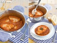 Receta clásica de bonito con tomate