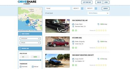 ¿Un Airbnb de coches clásicos? Existe y se llama DriveShare