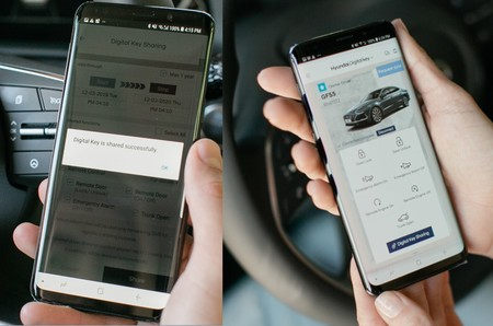 Llave Digital Hyundai Sonata 2020 2