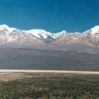 """San Juan, cita con cinco """"seismiles"""" en los Andes argentinos."""