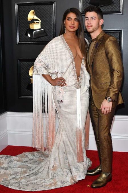 Nick Jonas Grammy Red Carpet Awards Trendencias Hombre 03
