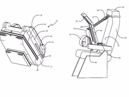Boeing Cuddle Chair Patent Png