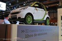 El smart fortwo EV hará 200 km sin recargar