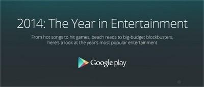 Google nos presenta lo mejor del 2014 dentro de toda la Play Store