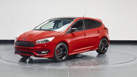 Ford2015 Focusredblack Red