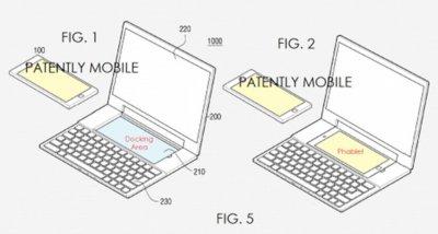 Samsung patenta un combo de portátil y phablet con Windows y Android, el concepto nos suena