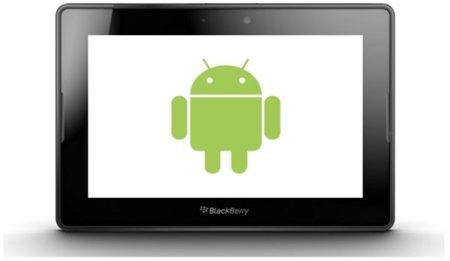 La BlackBerry Playbook podrá ejecutar aplicaciones de Android en diciembre