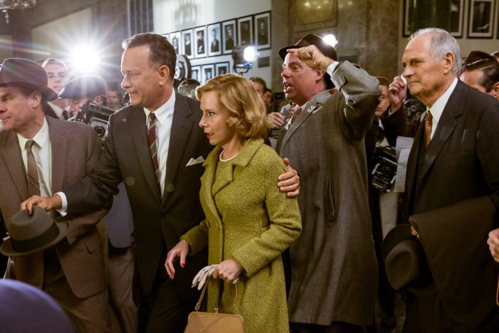 Tom Hanks, Amy Ryan y Alan Alda
