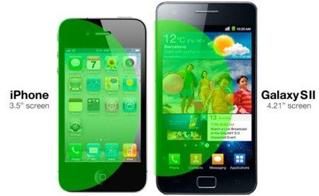 iPhone vs Galaxy S II