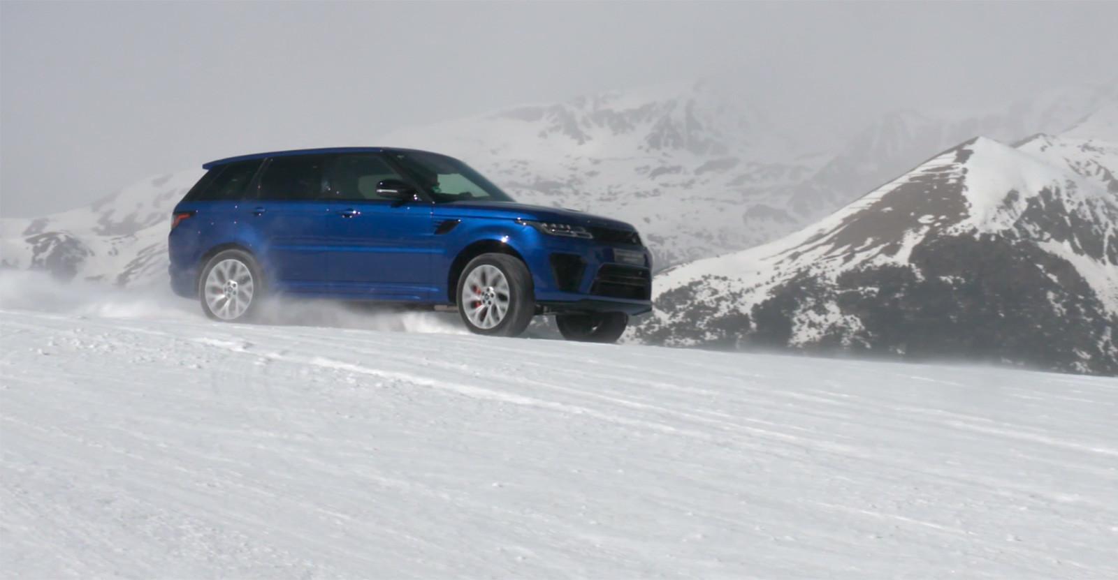 Foto de Curso de conducción en nieve de Jaguar Land Rover (11/28)