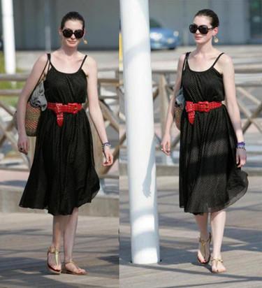 Anne Hathaway en el Festival de Cine de Venecia