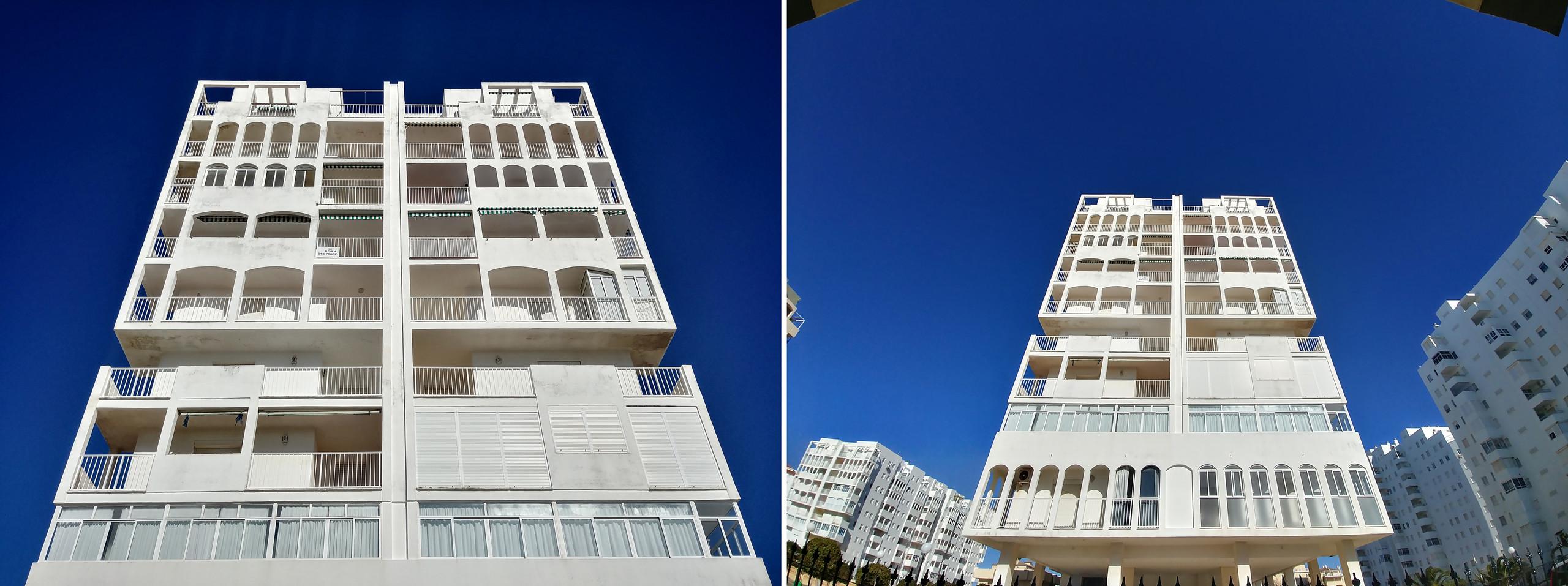 LG G6: cámara principal vs angular