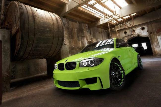 BMW Serie 1 M Coupé Irie Green