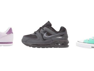 3 zapatillas para niños rebajadas en Zalando desde 17,20 euros. Gran disponibilidad de tallas y envío gratis