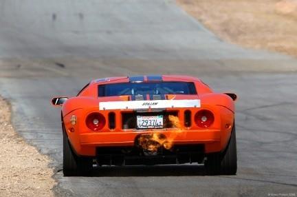 Steve Millen y su Ford GT