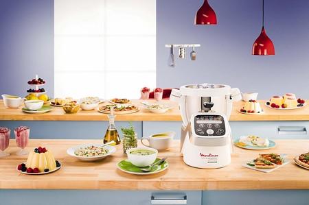 La Thermomix barata de Moulinex, el robot de cocina Cuisine Companion HF802A, a su precio mínimo en Amazon: 399 euros