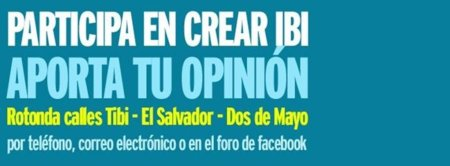 El Ayuntamiento de Ibi decidirá sobre una rotonda después de consultar a los vecinos en internet