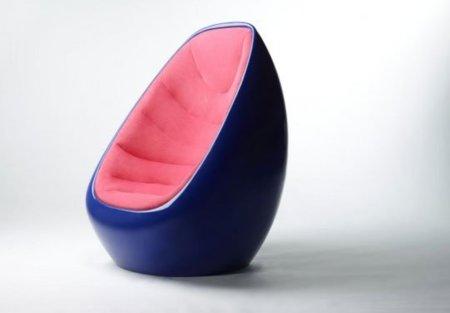 Una butaca molona diseñada por Karim Rashid para Martela