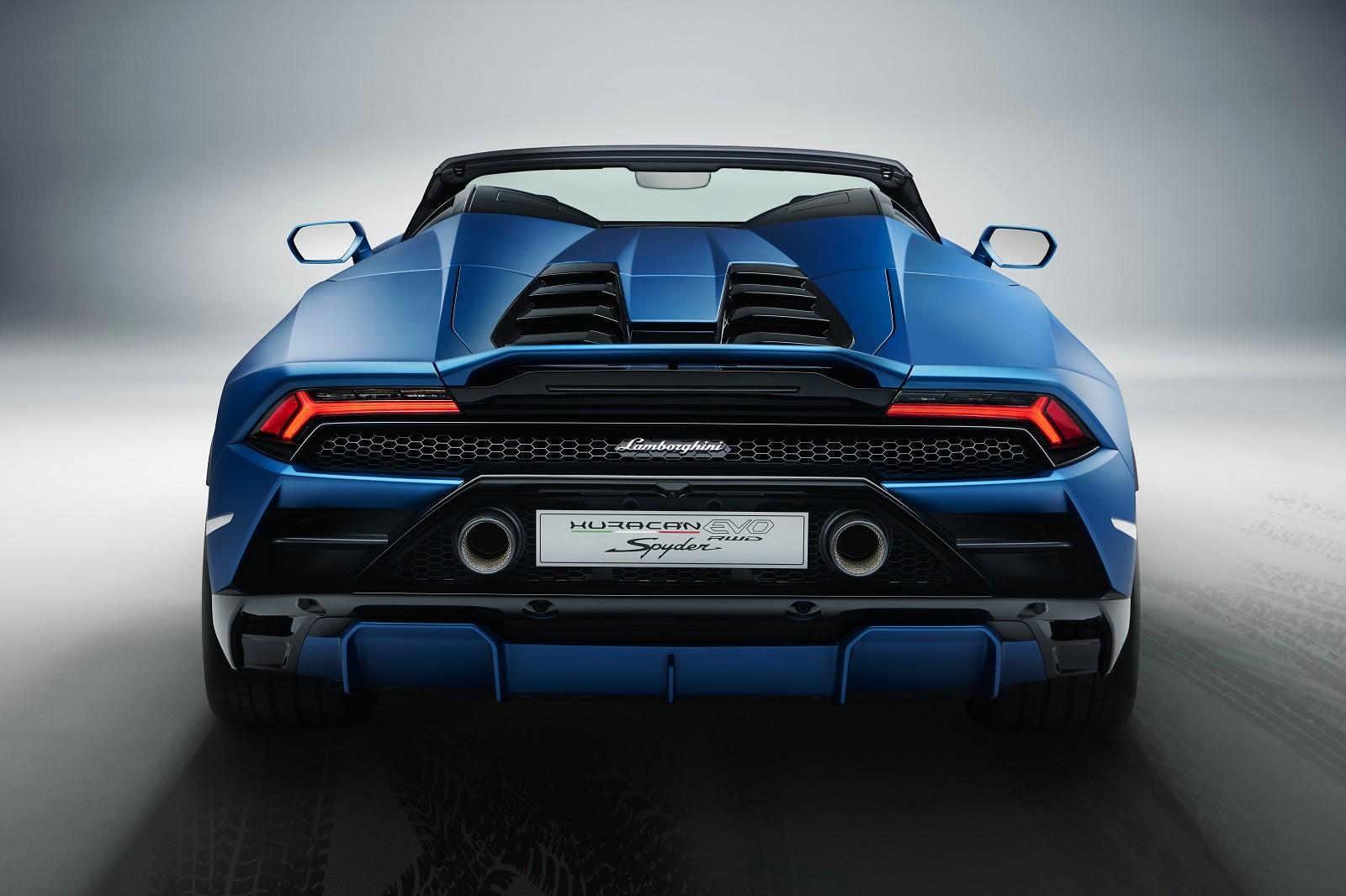 Foto de Lamborghini Huracan EVO Spyder RWD (12/14)