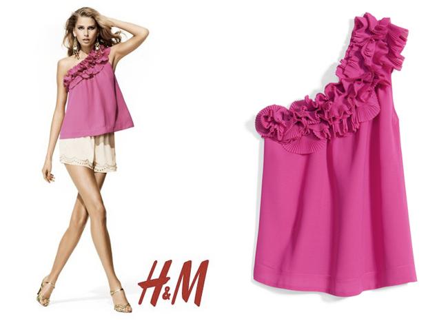 H&M colección de vestidos de fiesta verano 2011