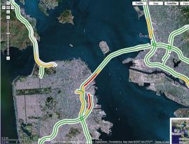 Controlando el tráfico con Google Maps