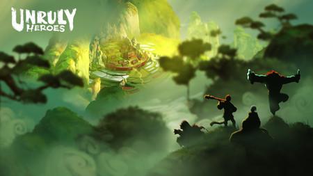 El mágico Unruly Heroes fija su fecha de lanzamiento en PS4 para finales de mayo junto con nuevos contenidos