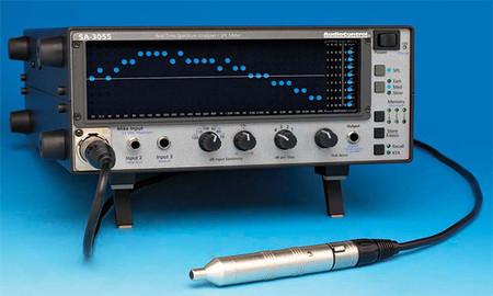 Analizador RTA audiocontrol