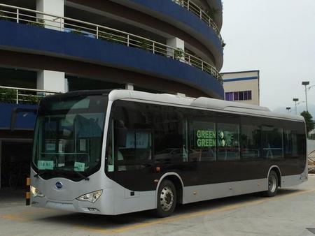 La ciudad china de Dalián realiza un pedido de 1.200 autobuses eléctricos BYD eBus-12
