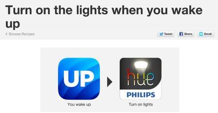 Enciende las luces cuando te despiertes
