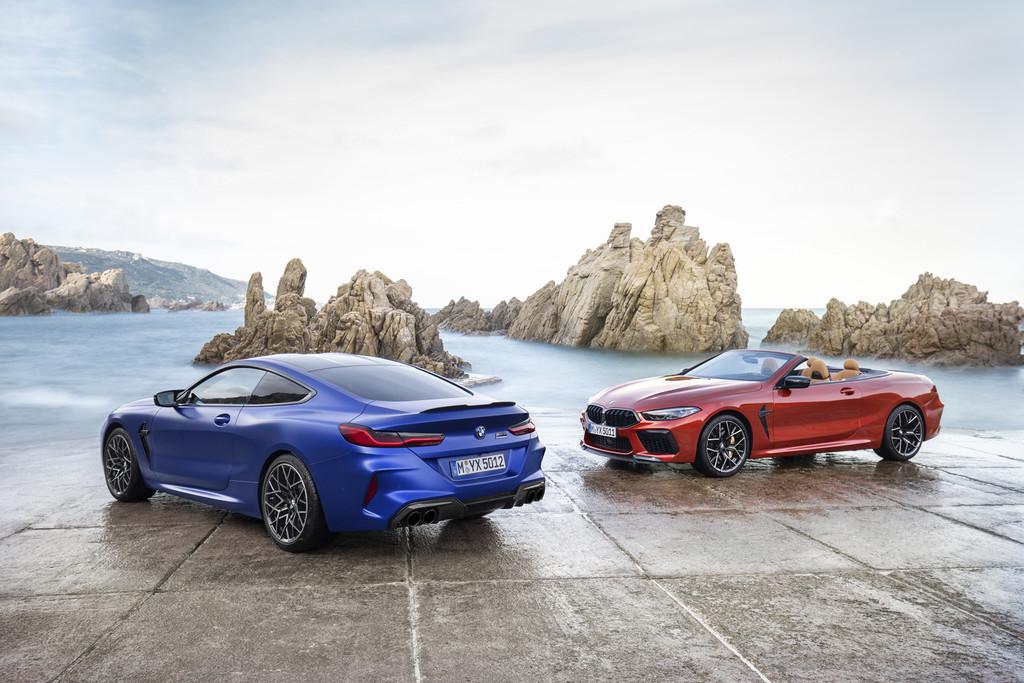 Así son los nuevos BMW M8 Competition: coupé y cabrio con motor V8 biturbo de 625 CV y tracción total
