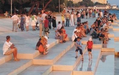 Zadar: un órgano que suena con el mar