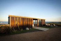 Una casa en la playa muy bien integrada