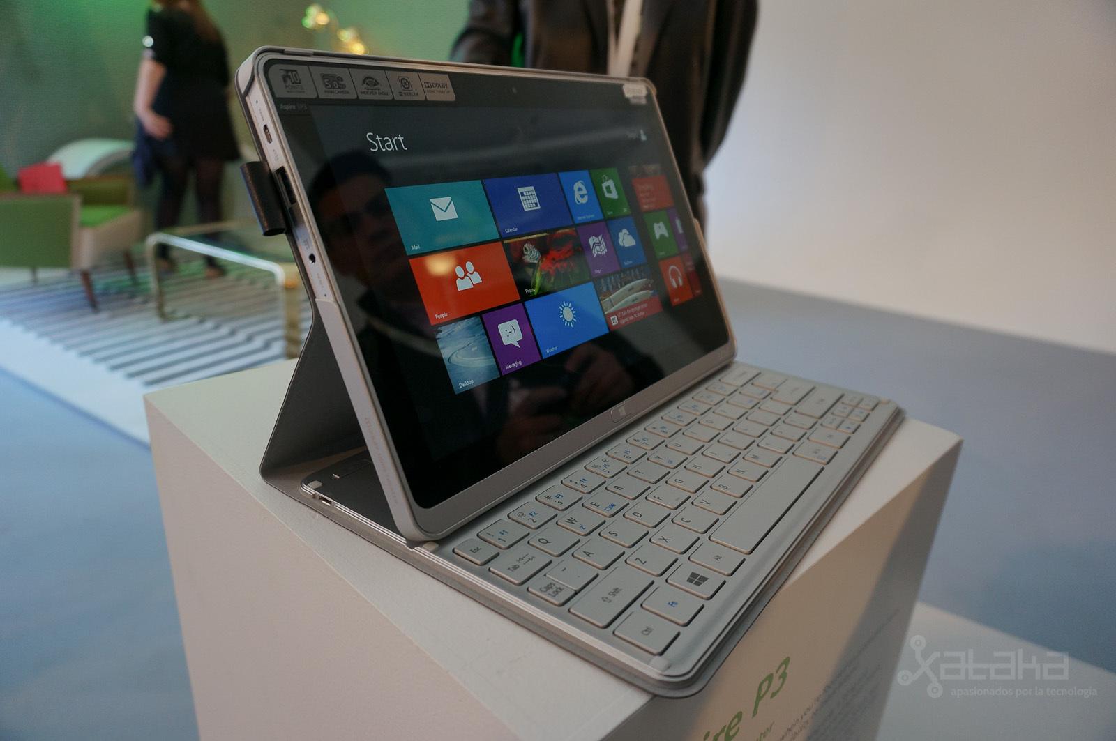 Foto de Acer Aspire P3, presentación en NY (1/7)