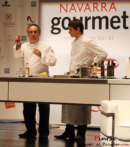 Ferrán Adrià en Navarra Gourmet